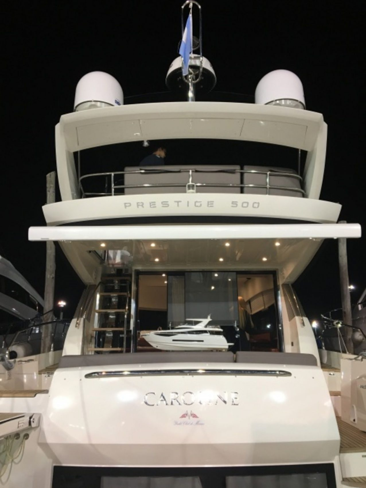 LAUNCH OF PRESTIGE YACHTS AT THE BUENOS AIRES BOAT SHOW