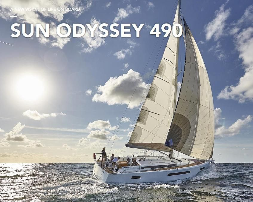 """Sun Odyssey 490 Named """"Best of the Best"""", by Prestigious Robb Report."""