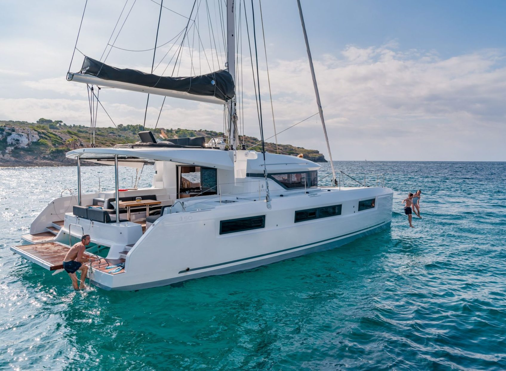 The Lagoon 50 wins SAIL'S award!