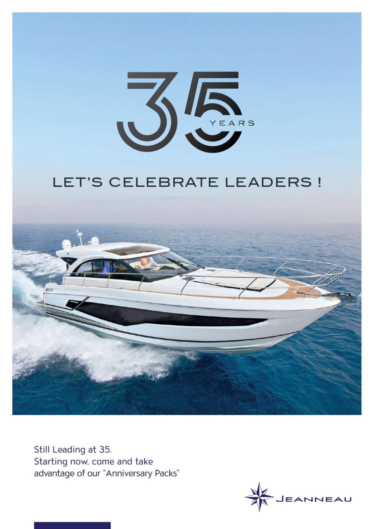 JEANNEAU IS CELEBRATING 35 YEARS!
