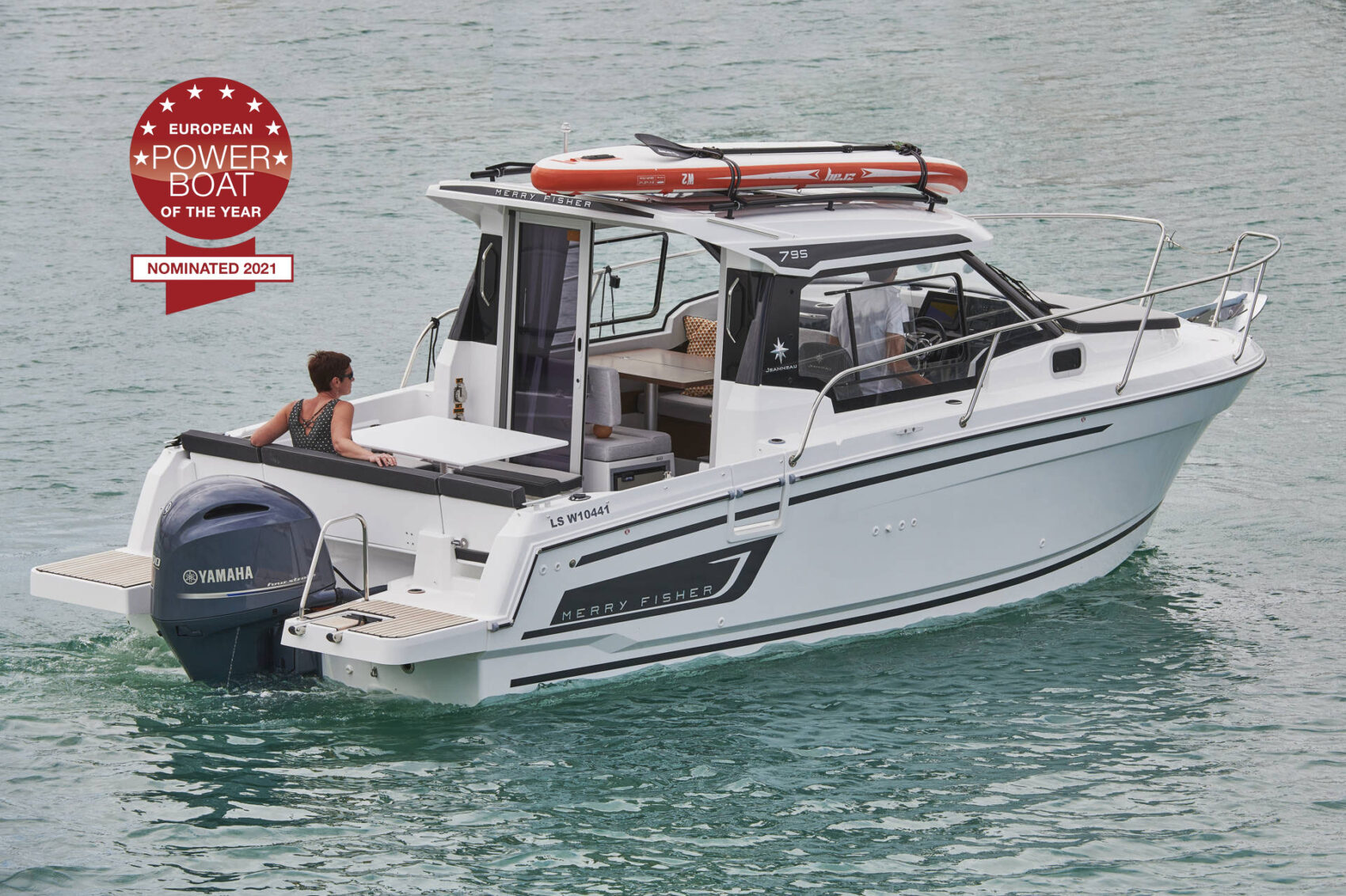MERRY FISHER 795 SERIES 2: EUROPEAN POWERBOAT OF THE YEAR 2021 NOMINATION!