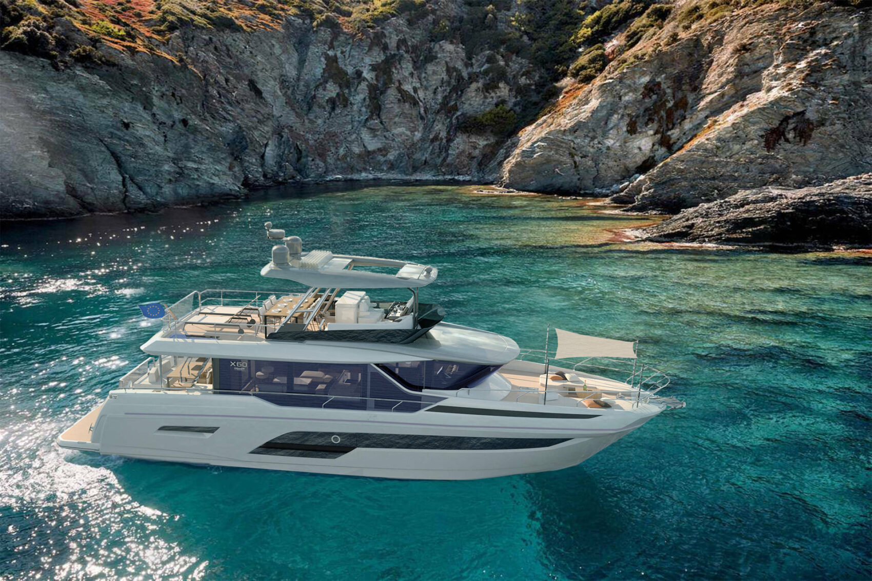 BRAND NEW PRESTIGE X60: THE ART OF CREATING WELL-BEING ON BOARD